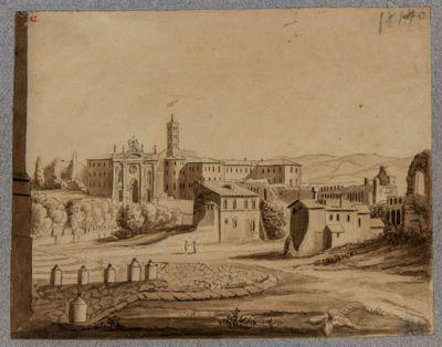 Mura Lateranensi presso S. Croce in Gerusalemme