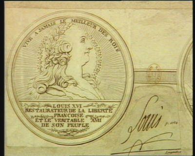 Louis XVI restaurateur de la liberté françoise et le veritable ami du peuple vive a jamais le meilleur des rois : [estampe]