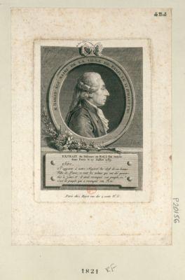M. Bailly élu maire de la ville de Paris le 15 juillet 1789 extrait du discours au roi... : [estampe]