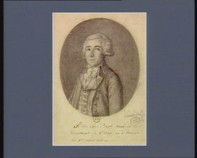 fr. Nic. Léon. Buzot député du Departement de L'Eure né à Evreux Le 1.er mars 1760 : [dessin]