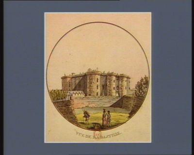 Vue de la Bastille [estampe]