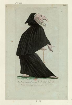 Le  Pere oquet fameux predicateur capucin vous n'i pensez pas vous nous ferez decouvrir : [estampe]