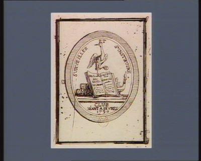 Surveiller et s'instruire club séant a Sevres 1790 : [estampe]