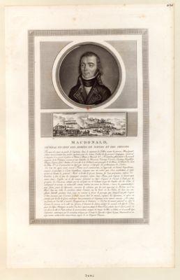 Macdonald, général en chef des armées de Naples et des Grisons [estampe]