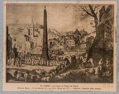 Piazza del Popolo, veduta verso sud-est