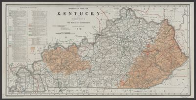 Railroad map of Kentucky [map] in SearchWorks catalog on kentucky population map 2014, kentucky utility map, kentucky state map, kentucky national parks map, kentucky attractions list, west virginia kentucky border map, kentucky highway map, kentucky area map, tug fork river west virginia map, kentucky transportation map, kentucky industrial map, kentucky aviation map, southern nh new hampshire map, i-65 kentucky map, kentucky lake map, kentucky major products, mountains of new york map, kentucky county map, kentucky map with capital, kentucky manchester map,