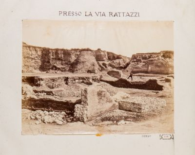 Mura Serviane, scavo eseguito presso la Via Rattazzi