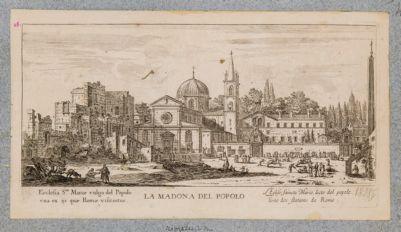 Piazza del Popolo, veduta verso levante