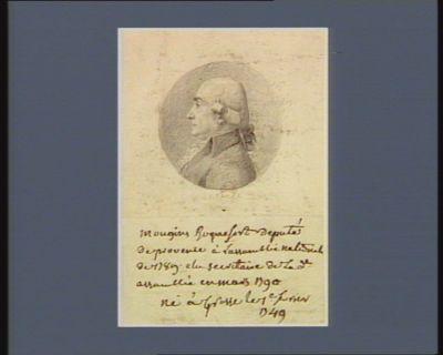 Mougins Roquefort député de Provence [dessin]