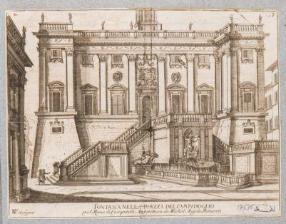 Campidoglio, facciata del Palazzo Senatorio