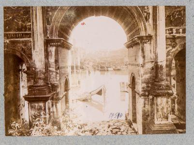 Foro Romano, panorama est inondato