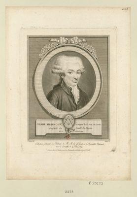 Charl. Hernoux, citoyen de St Jean de Lasne député du baill. de Dijon, né le 23 avril 1749 : [estampe]