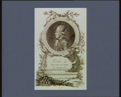 Paolo I Imperatore di tutte le Russie &c [estampe]