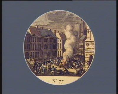 N.o 77 29 avril. Mort funeste du général Dillon dans la ville de Lille... : [estampe]