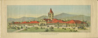 The Leland Stanford Junior University now in the course of completion. ..issued with the Christmas number, San Francisco News Letter, 1887
