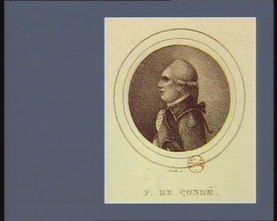 P. de Condé [estampe]