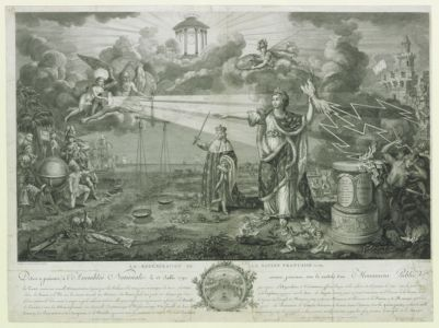 La  Regeneration de la nation française en 1789 dediée et presentée à l'Assemblée nationale le 13 juillet 1790... : [estampe]