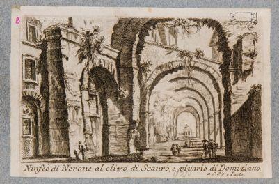 Ninfeo di Nerone al clivo di Scauro e vivario di Domiziano a SS. Giovanni e Paolo