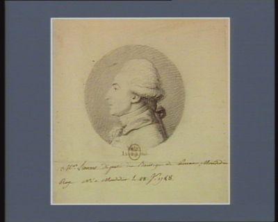 Mr Lienart député du baillage de Pérone, Mondidier, Roye né à Mondidier le 28 X.1748 : [dessin]