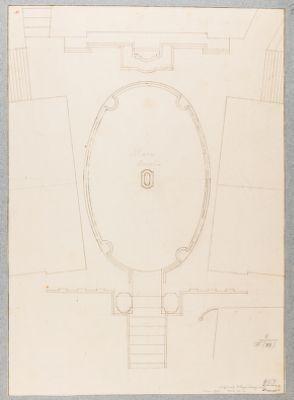 Campidoglio, pianta del Piazzale
