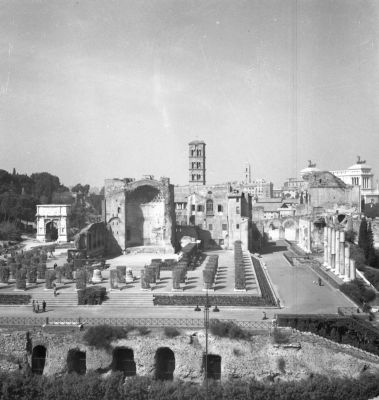 Temple of Venus and Rome, from east