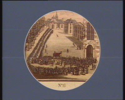 N.o 6 4 mai. Procession solennelle, <em>à</em> Versailles pour l'ouverture des Etats g.aux... : [estampe]