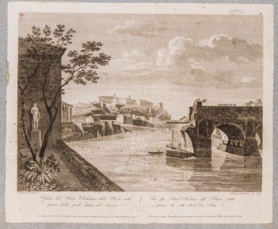 Ponte Rotto o Emilio, veduta di una parte del ponte
