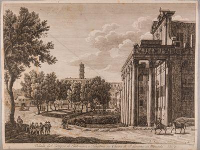 Tempio di Antonino e Faustina, pronao
