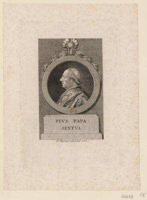 Pius papa sextus [estampe]