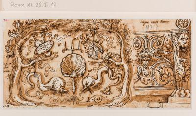 Terme di Agrippa, motivi ornamentali