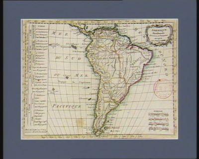 Amérique méridionale divisée en ses principaux etats [estampe]