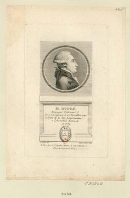 M. Dupré négociant fabricant né à Carcassonne le 25 novembre 1742 député de la dite sénéchaussée a l'Assemblée nationale de 1789 : [estampe]