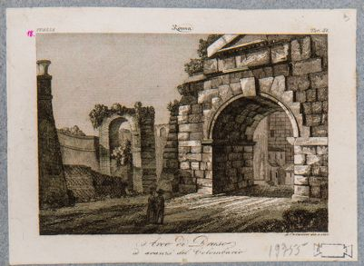 Arco di Druso e avanzi del colombario