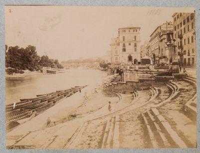 Porto di Ripetta, veduta generale di scorcio