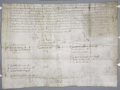 Cambridge, Corpus Christi College, MS 627: Papal bull of Adrian IV (fragment)