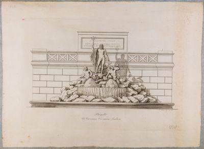 Piazza del Popolo, gruppo della fontana di Nettuno