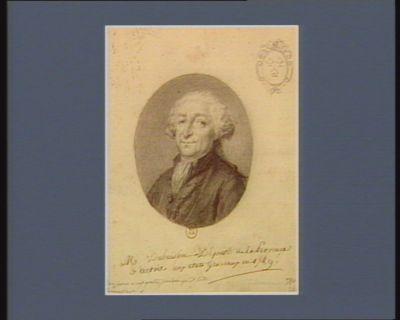 M Dubuisson Député de la Province d'Artois aux états generaux en <em>1789</em>. : Bon pour vingt quatre, pourvu qu'il soit Ressemblant. : [dessin]