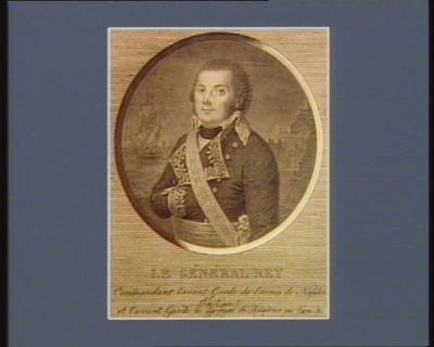Le  Général Rey commandant l'avant garde de l'armée de Naples en l'an 7 et l'avant garde de l'armée de reserve en l'an 8 : [estampe]