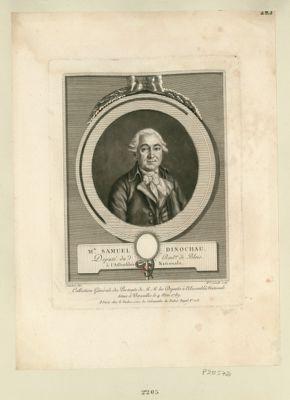 Mr. Samuel Dinochau deputé du bail.ge de Blois <em>à</em> l'Assemblée nationale. : [estampe]