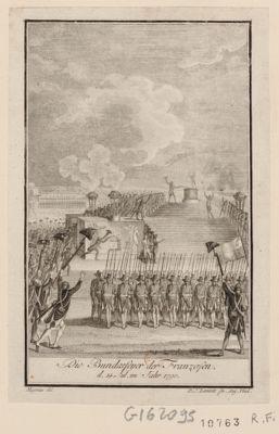 Die  Bundesfeyer der Franzosen d. 14. Jul. im Jahr 1790 [estampe]