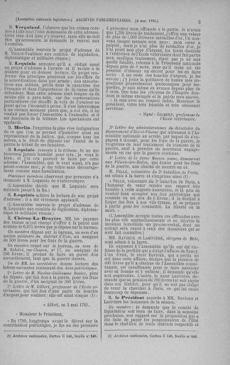 Tome 43 : Du 4 au 22 mai 1792 - page 3