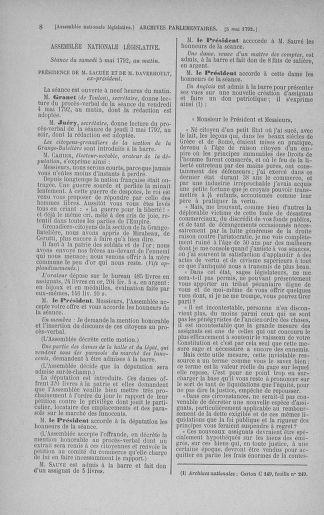 Tome 43 : Du 4 au 22 mai 1792 - page 8