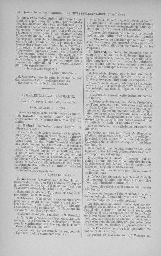 Tome 43 : Du 4 au 22 mai 1792 - page 60