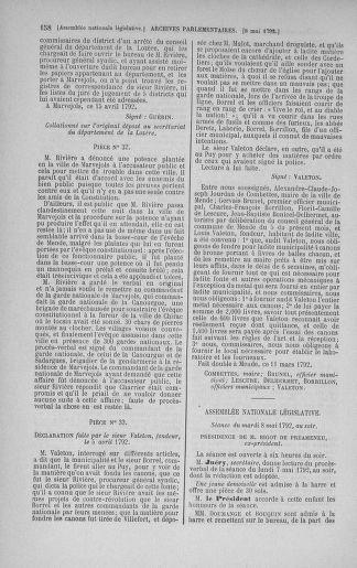 Tome 43 : Du 4 au 22 mai 1792 - page 158