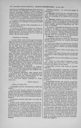 Tome 43 : Du 4 au 22 mai 1792 - page 174