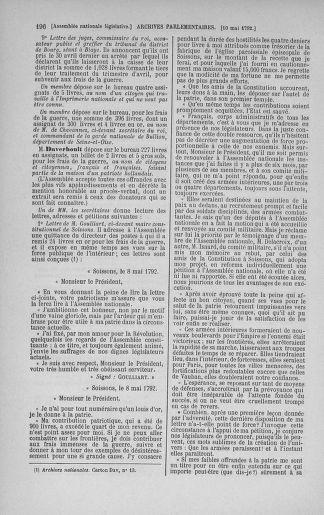 Tome 43 : Du 4 au 22 mai 1792 - page 196