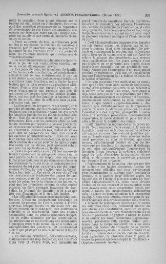 Tome 43 : Du 4 au 22 mai 1792 - page 203