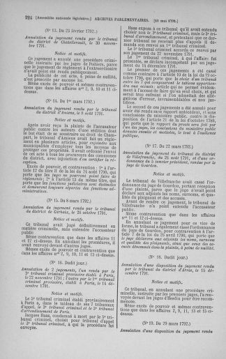 Tome 43 : Du 4 au 22 mai 1792 - page 224