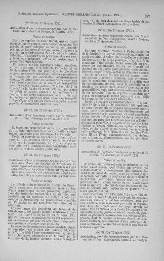 Tome 43 : Du 4 au 22 mai 1792 - page 227