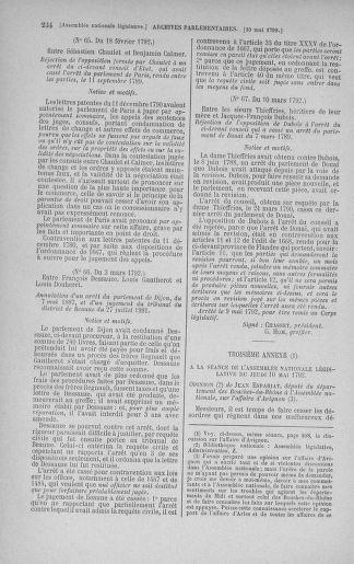 Tome 43 : Du 4 au 22 mai 1792 - page 234